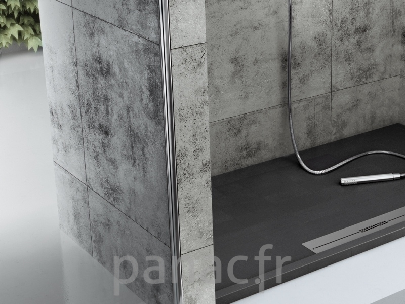 receveurs de douche fiora silex 1 panac fr. Black Bedroom Furniture Sets. Home Design Ideas