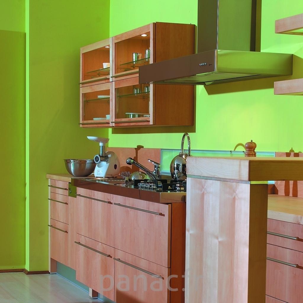 Decoration cuisine bois naturel - Meuble de cuisine bois ...