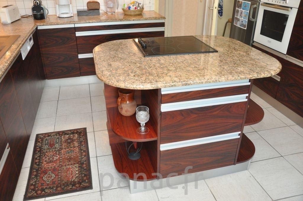 Placage meuble cuisine - Meubles en bois naturel ...