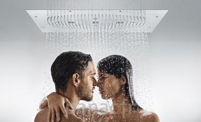 Hansgrohe® Douche de tête Raindance Rainmaker 680 mm x 460 mm avec éclairage