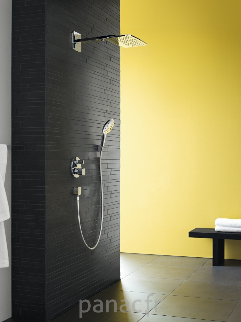 hansgrohe mitigeurs colonnes de douche. Black Bedroom Furniture Sets. Home Design Ideas