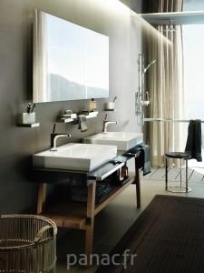 Hansgrohe® mitigeurs, lavabo Axor Citterio E Ambience Washbasin Joystick