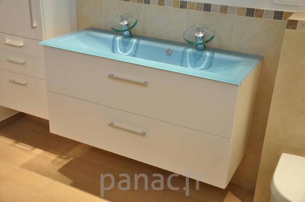 Mobilier salle de bain en laque 34 panac fr for Mobilier salle de bain