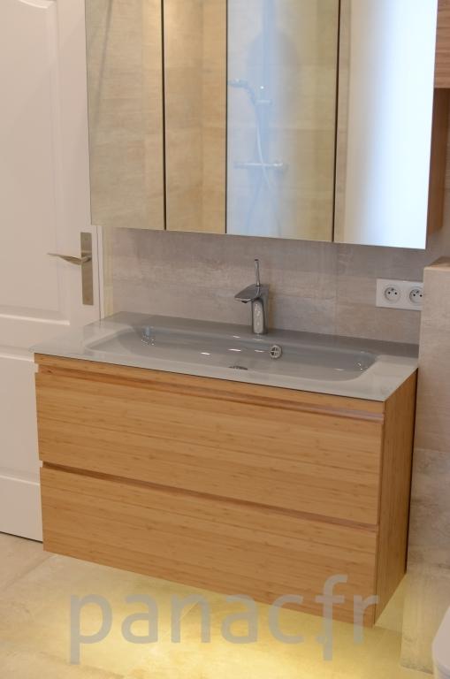 Mobilier salle de bain en bois 30 panac fr for Mobilier salle de bain bois