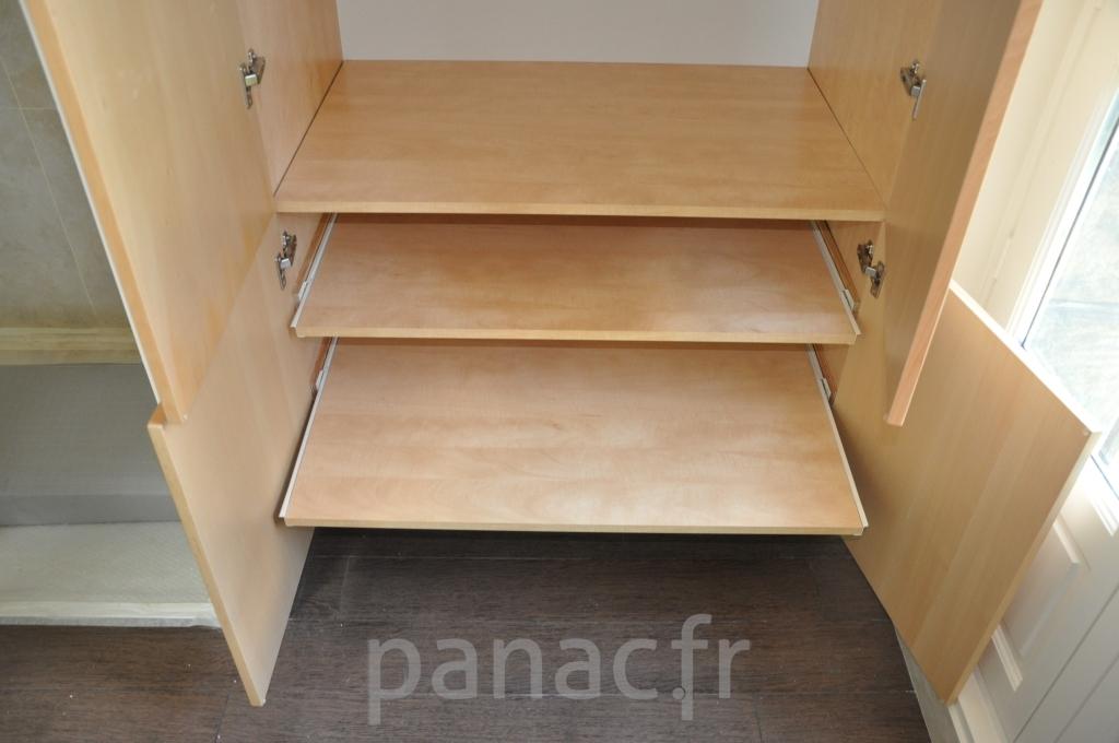 Mobilier salle de bain sur mesure en bois for Mobilier salle de bain