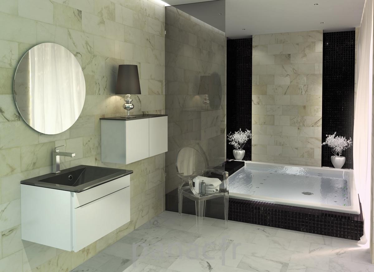 Souvent de bain moderne, salle de bain design ON84