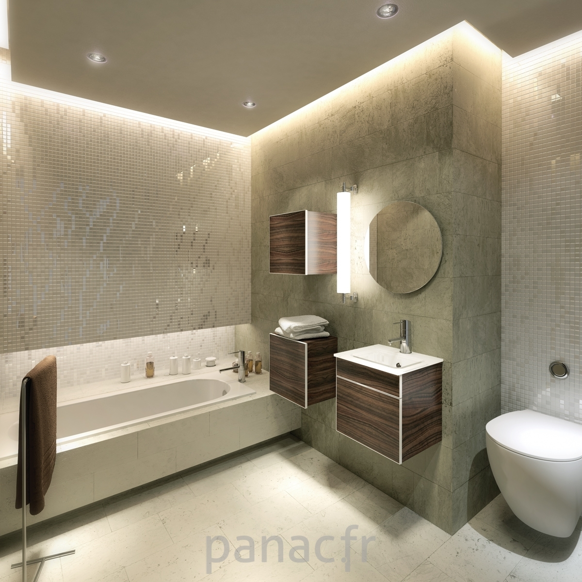 salle de bain moderne salle de bain design. Black Bedroom Furniture Sets. Home Design Ideas