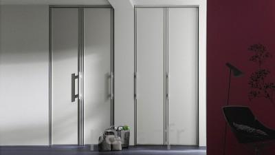 Portes coulissantes Raumplus® en verre
