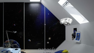 Portes coulissantes Raumplus® en d'autres matériaux