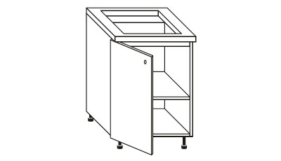 Meubles de cuisine meubles de cuisines - Meuble pour four et plaque de cuisson ...