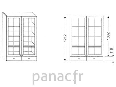 Armoire de cuisine V-80/1212 F
