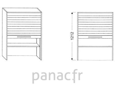 Armoire de cuisine V-60/1212 Z