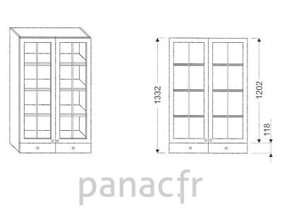 Armoire de cuisine V-80/1332 F