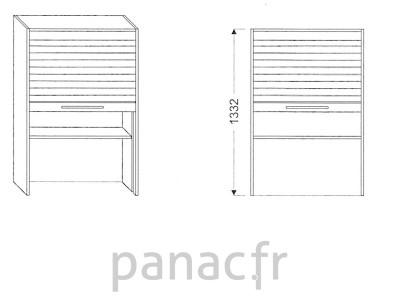 Armoire de cuisine V-50/1332 Z