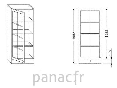 Armoire de cuisine V-50/1452 FL