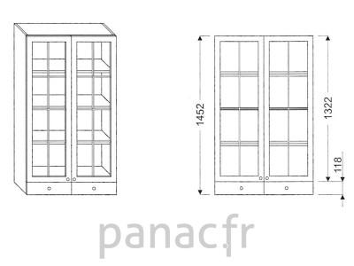 Armoire de cuisine V-80/1452 F