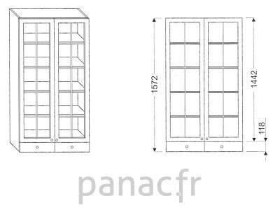 Armoire de cuisine V-80/1572 F