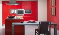 Cuisine en couleurs, meubles de cuisine laqués