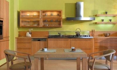 Choix d'une cuisine contemporaine en bois.