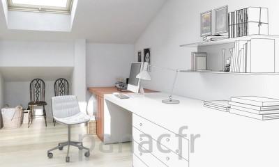 Tables et bureau sur mesure