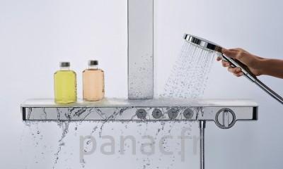 Robinettrie , mitigeurs et colonnes de douche