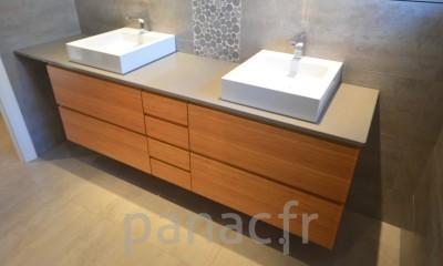 Mobilier salle de bain sur mesure